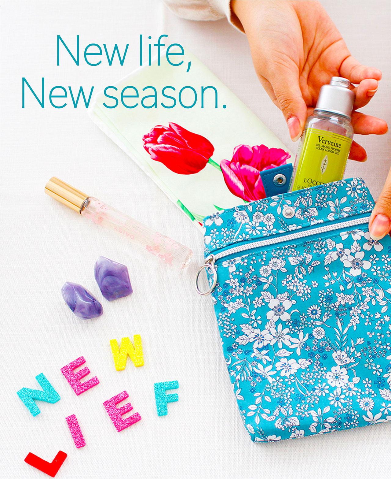 New life,New season.